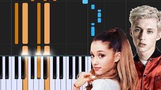 "Troye Sivan - ""Dance To This""  ft. Ariana Grande Piano Tutorial - Chords - How To Play - Cover Mp3"
