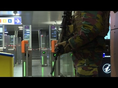 Brussels metro resumes partial service after attacks