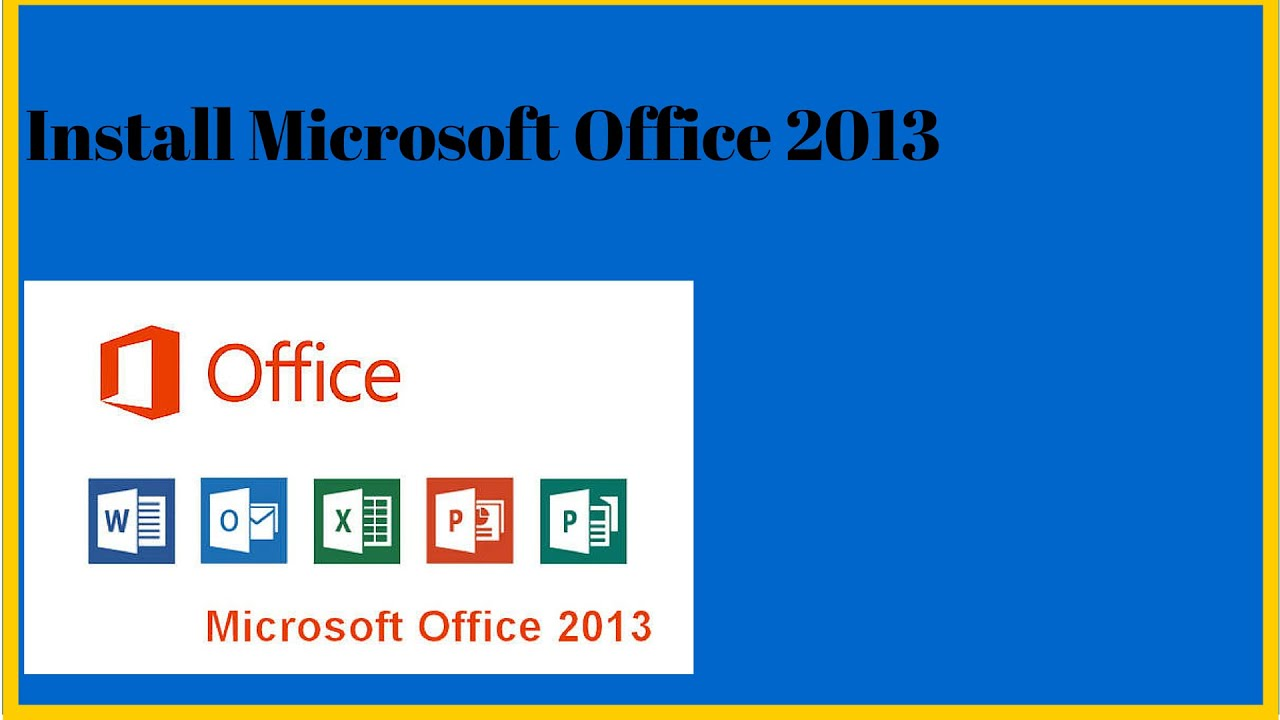how to install microsoft office 2013 crack
