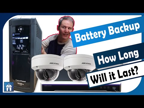 Battery Backup For Your Security Camera System (PC/MAC & NVR/DVR)