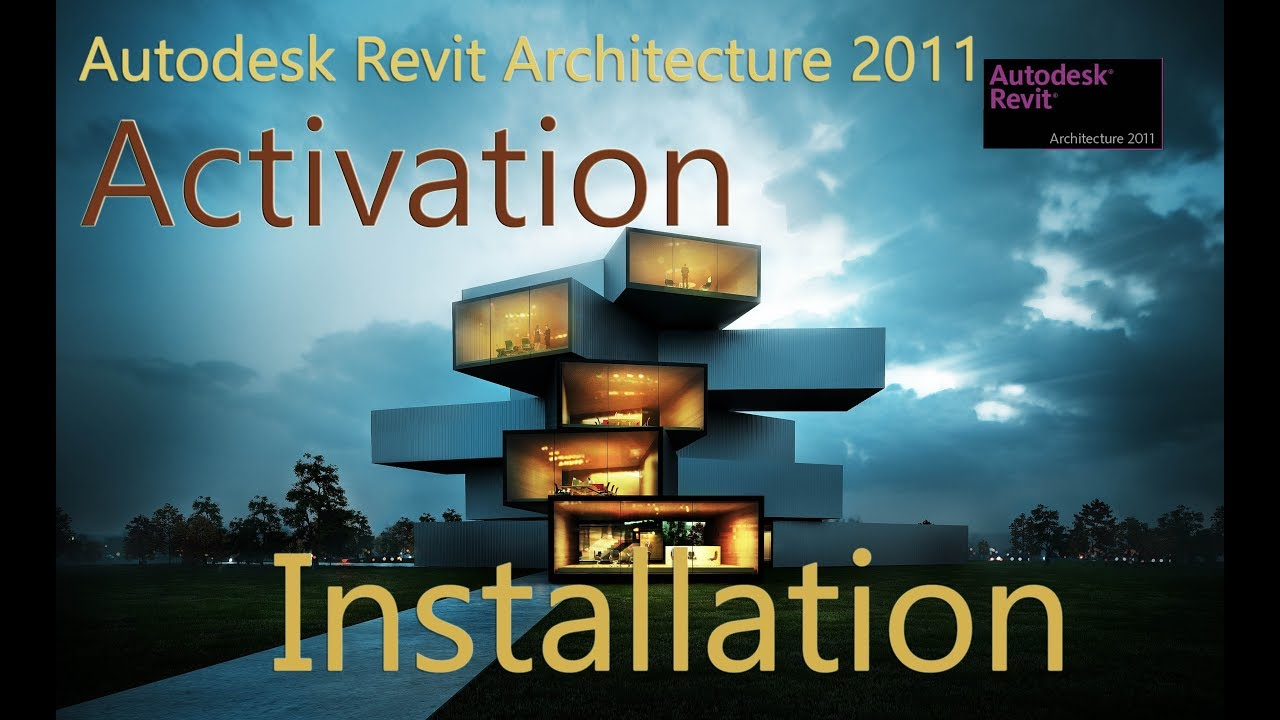 Autodesk revit architecture 2011 x64 bit installation and.