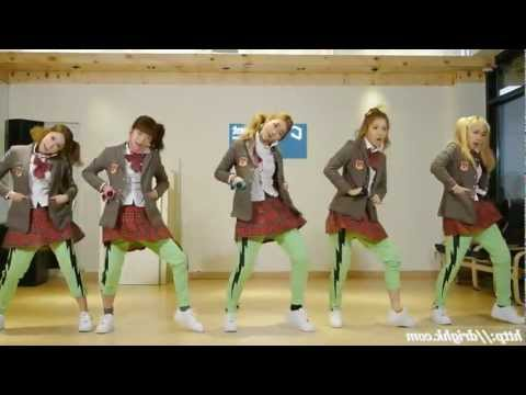 Crayon Pop - Bing Bing Remix mirrored Dance Fancams-