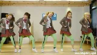 Crayon Pop - Bing Bing Remix mirrored Dance Fancams