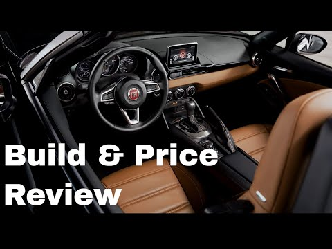 2019 FIAT 124 Spider Abarth - Build & Price Review: Colors, Packages, Interior, Specs, Features