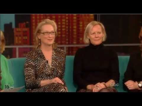 Meryl Streep - The View (The Iron Lady)