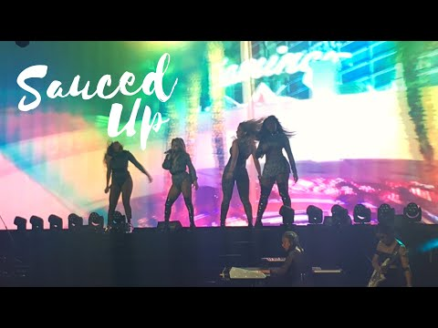 Fifth Harmony - Sauced Up - PSA Tour Belo Horizonte (04/10/2017)