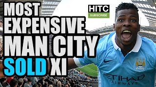 Most Expensive MANCHESTER CITY Sold XI