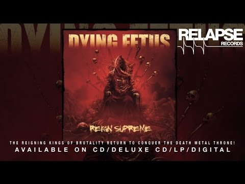 """DYING FETUS - """"The Blood Of Power"""""""
