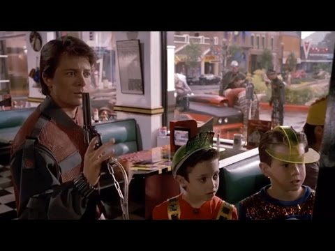 470e79b0 Elijah Wood's defining role in 'Back To The Future II' - YouTube