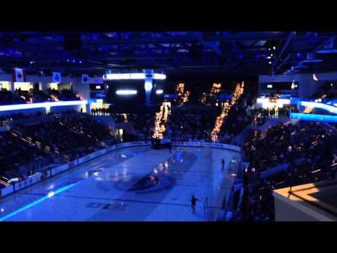 Pegula Ice Arena Zambonis opening game day