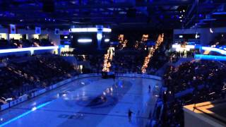 Pegula Ice Arena Zambonis opening game day