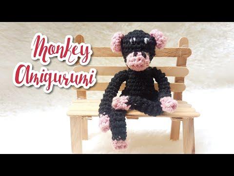 Tutorial Amigurumi Monkey|crochet Doll Monkey