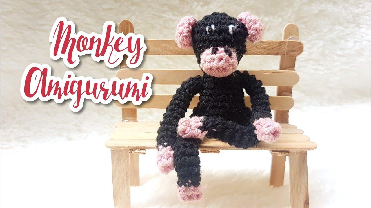 Mimi the Monkey Free Amigurumi Pattern | Jess Huff | 720x1280
