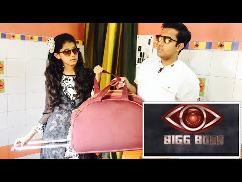 When you are a Big Boss Lover|Low Budget Big boss funny video|Crazy Siblings