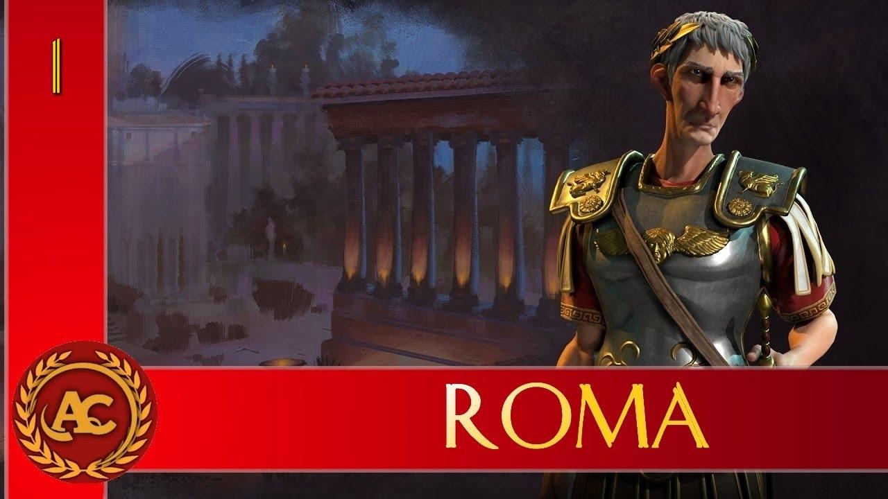 Civilization 6 - Impero Romano [Traiano] #1 (Gameplay ITA)⚔