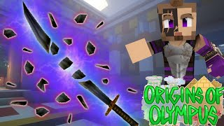 "Origins of Olympus #40 - ""BREAKING THE SWORD OF HADES!"" (Percy Jackson Minecraft Roleplay)"