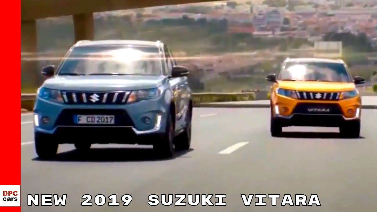 New 2019 Suzuki Vitara Suv Youtube
