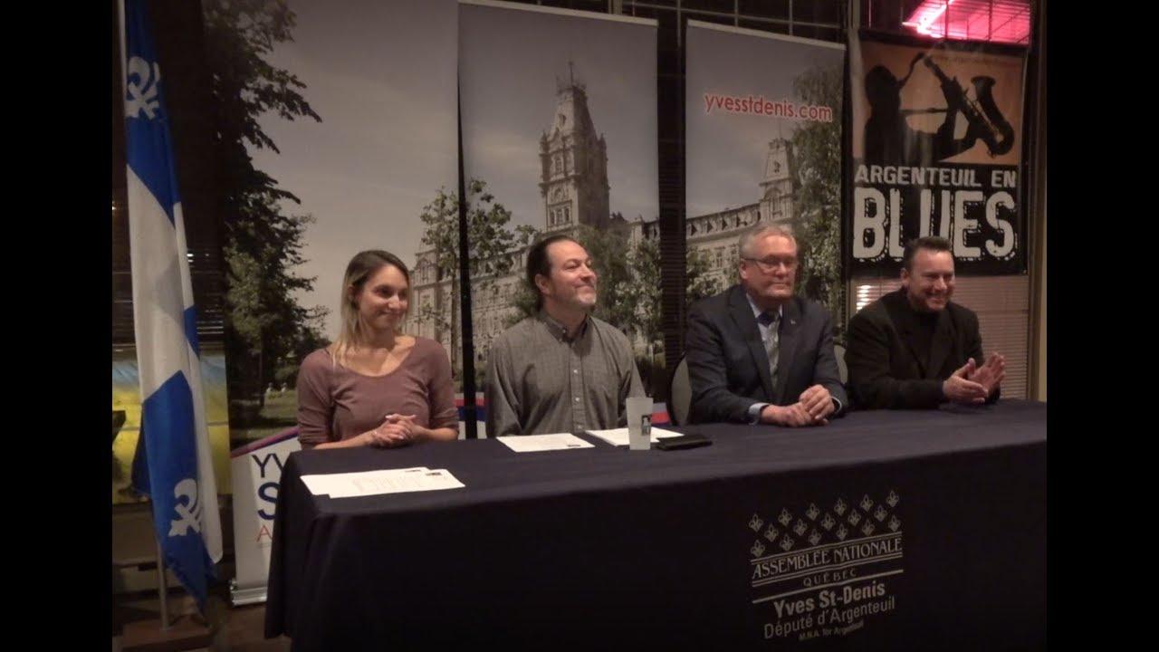 Conférence de Presse pour le Festival Argenteuil en Blues 2018