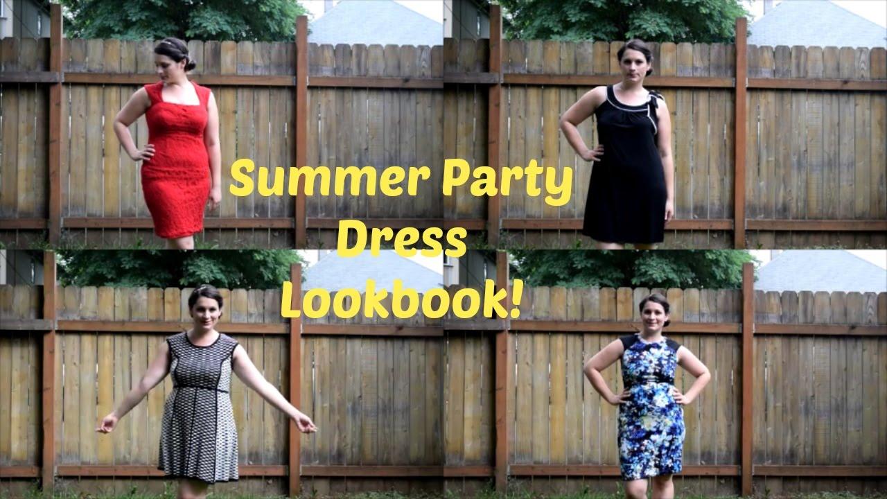 b372107bfdd2 Summer Party dress ideas for Curvy girls  Lookbook - YouTube