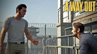 A Way Out - Co-op 1 - Prison Fight
