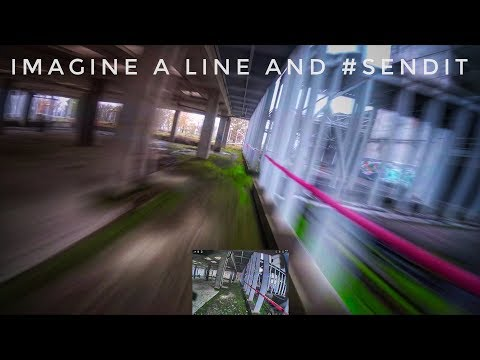 Imagine a line and #sendit // bando hospital uncut rip