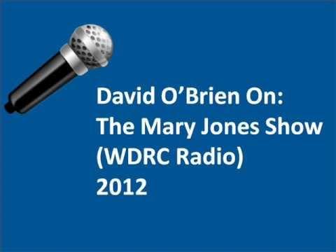 David O'Brien On The Mary Jones Radio Show - 2012