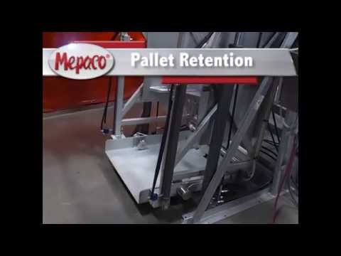 Pallet Retracts from Combo to Eliminate Contamination from Dump Zone