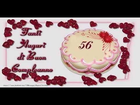 Cartoline Animate E Musicali Buon Compleanno 56 Anni Youtube
