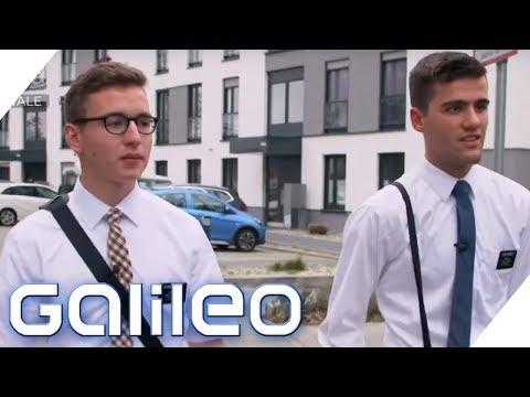 Auslands-Mission für Gott: Mormonen in Deutschland | Galileo | ProSieben