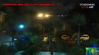 Night LIVE TAMPA, ORLANDO   HURRICANE IRMA COVERAGE Video