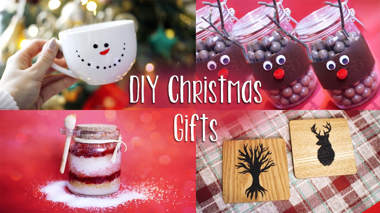 Last Minute DIY Christmas Gifts | Easy & Affordable - YouTube