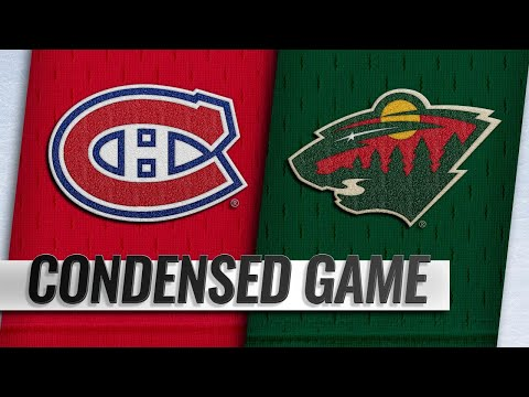 12/11/18 Condensed Game: Canadiens @ Wild
