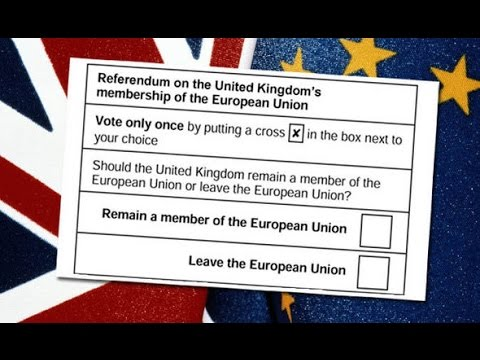 Brexit Vote - 72 Hours To The UK Referendum