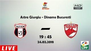Astra Giurgiu - Dinamo Bucuresti ~ Ultimul loc din play-off se joaca !