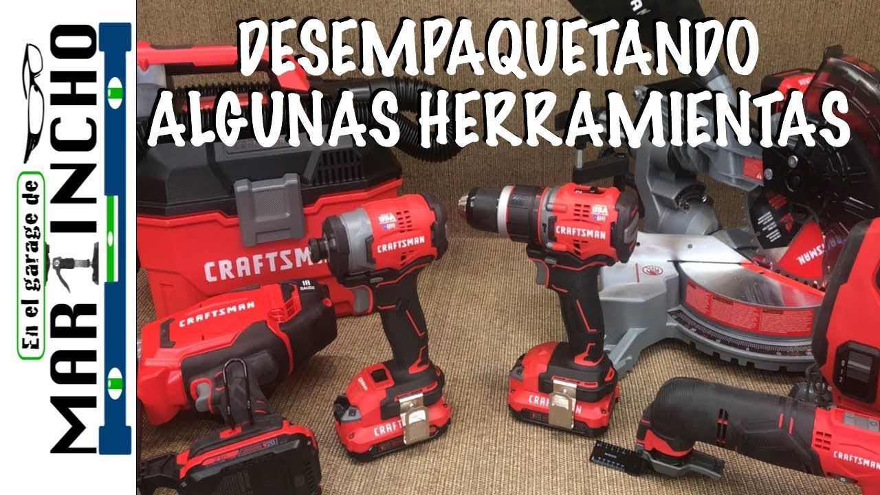 Caja de Herramientas Set Craftman Construccion Carpinteria Kit Mecanica Crasfman