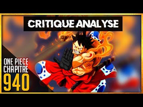 Critique Analyse chapitre one piece 940 : Le Haki plus fluide.