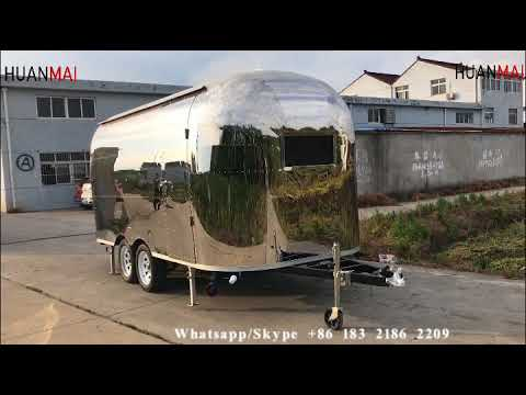 Mobile Food Carts Concession Catering Trailers Ice Cream Food Truck