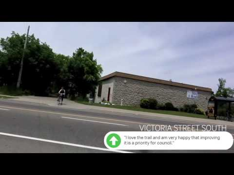 Iron Horse Trail in the City of Kitchener