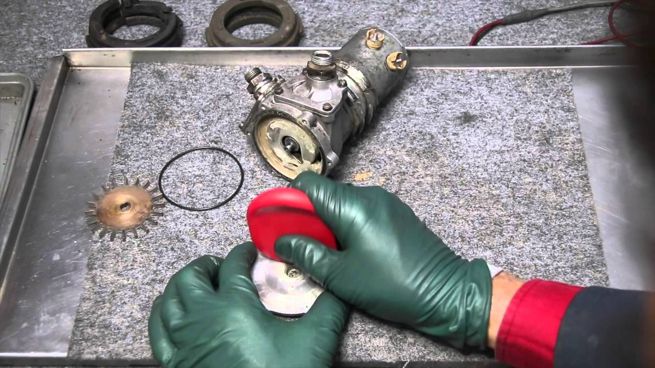 How To Inspect And Repair An Early Mercedes Electric Fuel Pump
