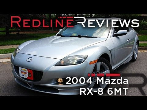 2004 Mazda RX-8 6MT Review, Walkaround, Exhaust & Test Drive