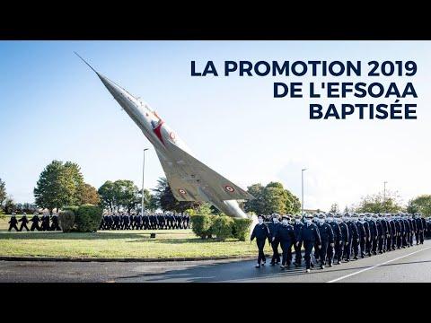 La promotion 2019 de l'EFSOAA baptisée