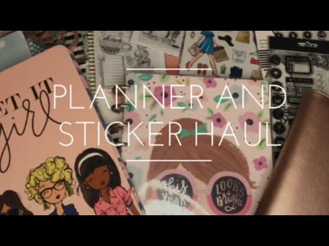 July Planner and Sticker Haul | Happy Planner | Paper Studio