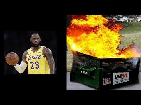 What Is A Bigger Dumpster Fire: The US Economy Or The Lakers?
