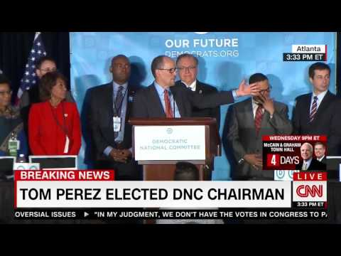 DNC chair Tom Perez vows to build