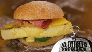 Famous Egg & Cheese Sandwich with Flour