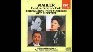 """Mahler """"Das Lied von der Erde"""" Otto Klemperer"""