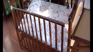 Ollington St. Collection Baby Wooden Cot, Lmy632c