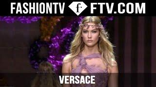 Versace Show ft. Kendall Jenner & Karlie Kloss   Paris Haute Couture Fall/Winter 2015/16   FashionTV