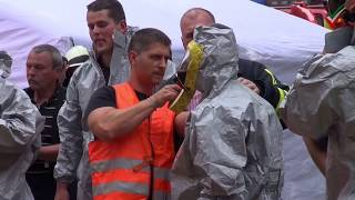 NRWspot.de | Gefahrstoff-Austritt – MAnV-Lage in Hattingen – 200 Personen evakuiert
