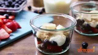 Breakfast Recipes   Summer Berry Parfait